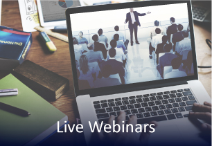 Live Webinars for credit managers, credit analysts, collections managers & credit risk managers